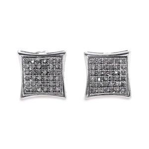 Other - 14 Karat Diamond Men's Studs Earrings With Screw